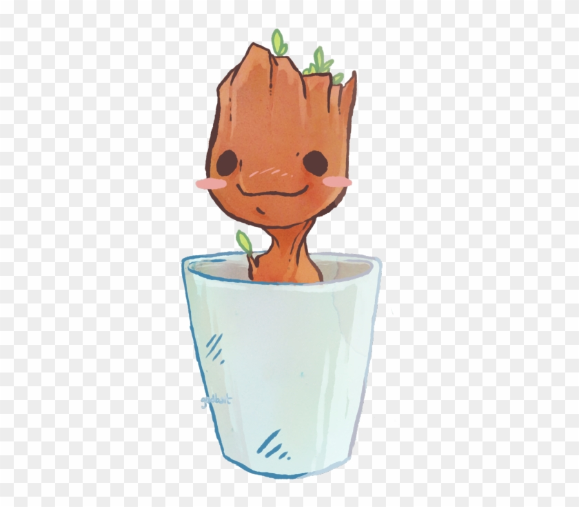 Teenager groot clipart picture library stock Guardians Of The Galaxy Clipart I Am Groot - Groot Art, HD ... picture library stock