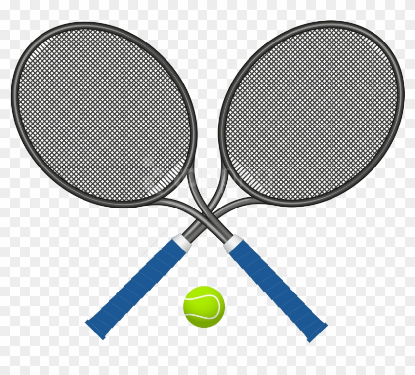 Tennis racquets clipart svg free library Free Png Download Tennis Rackets With Ball Clipart - Tennis ... svg free library