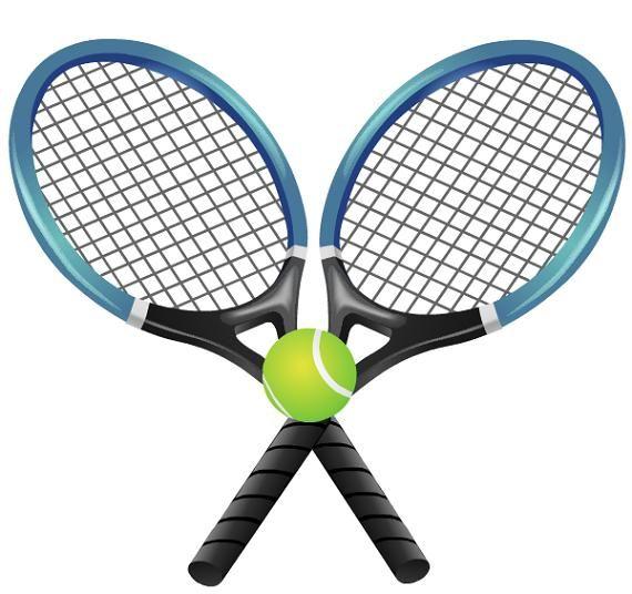 Teenis racket clipart graphic library stock Tennis Clip Art Border Free | Clipart Panda - Free Clipart ... graphic library stock
