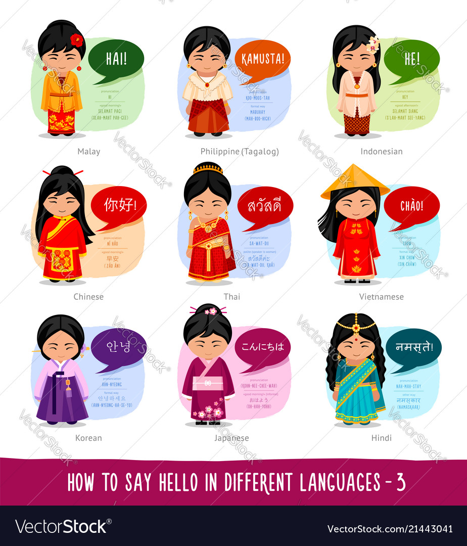Teens saying hello to each other clipart image transparent Girls saying hello in foreign languages image transparent