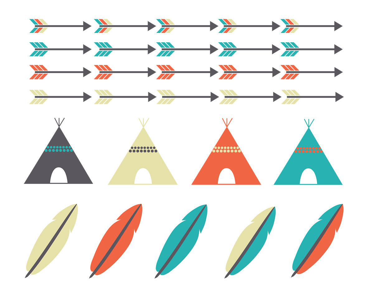 Teepee silhouette clipart vector freeuse library 8+ Teepee Clip Art   ClipartLook vector freeuse library