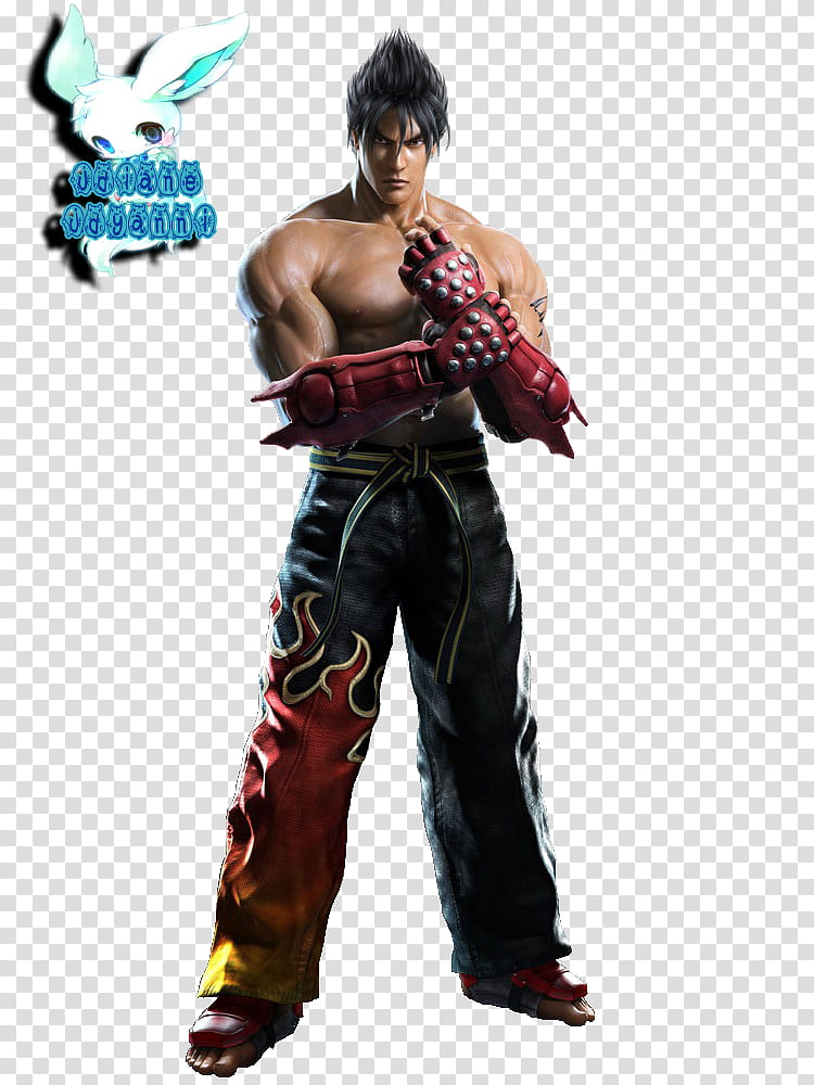 Tekken tag tournament clipart clip transparent library Jin Kazama Tekken Tag Tournament Render, male game character ... clip transparent library