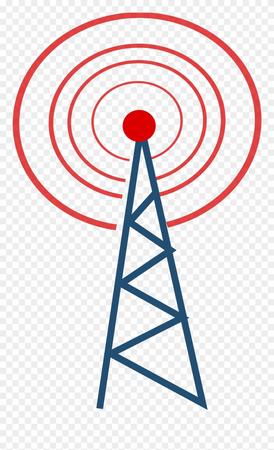 Telecom clipart jpg library library Towers Clipart Network Tower - Telecommunication Tower ... jpg library library
