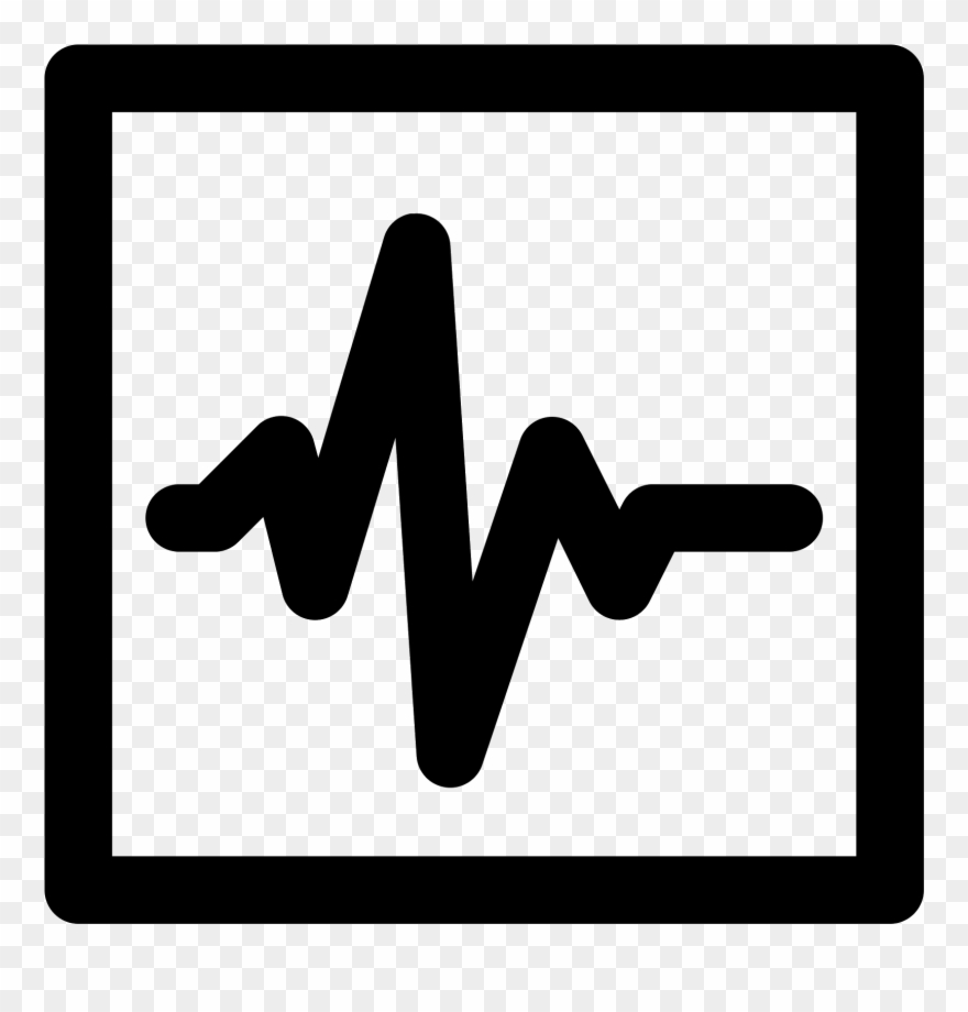 Telemetry clipart picture library library Heartbeat Vector Png Download - Monitoring Icon Black ... picture library library