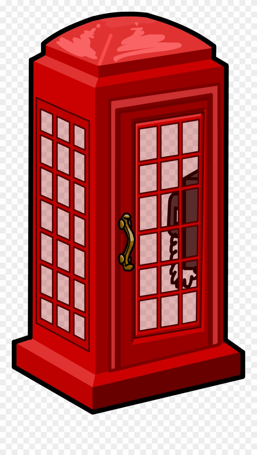 Telephone box clipart png free download Phone Booth Clipart Clip Art - Telephone Box Icon Png ... png free download