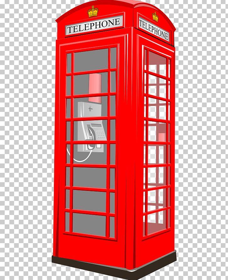 Telephone box clipart