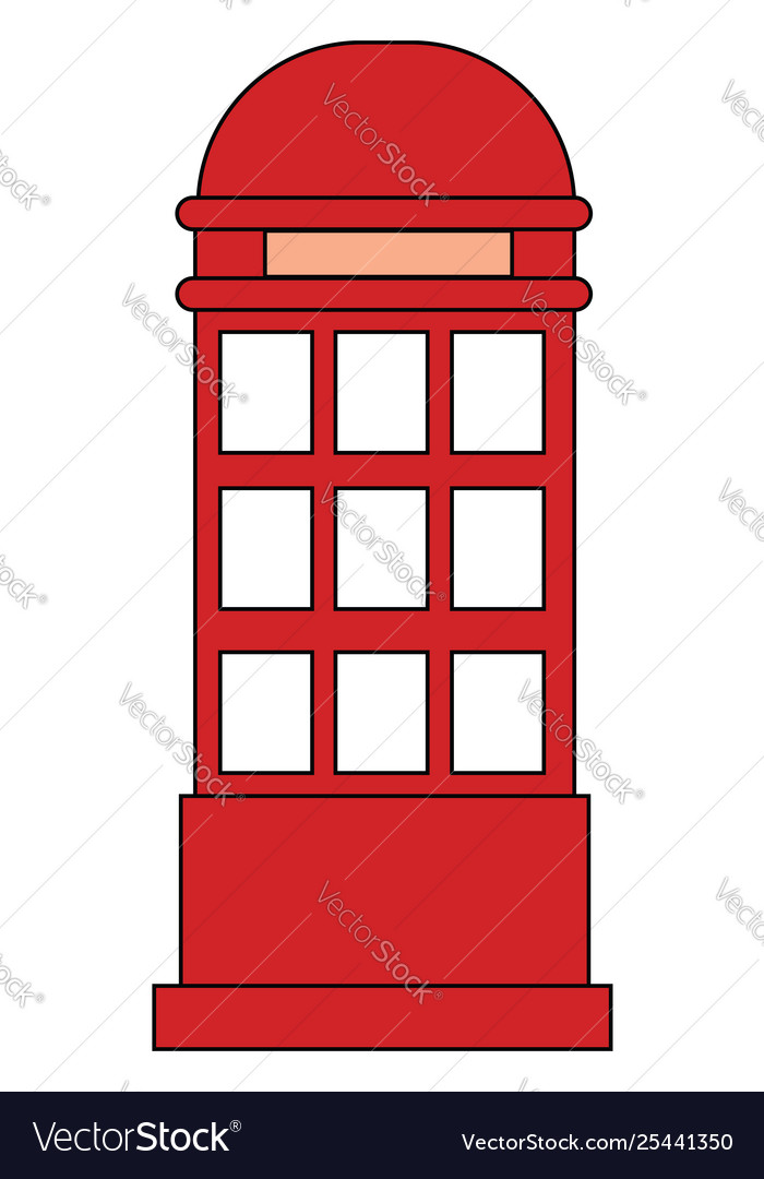 Selling at booth clipart clip freeuse stock Clipart red phone booth set isolated on clip freeuse stock