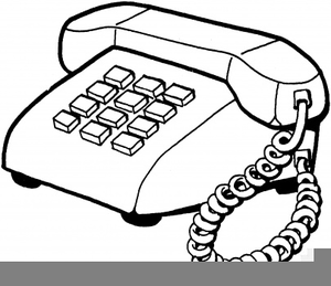 Telephone clipart image royalty free library Black White Telephone Clipart | Free Images at Clker.com ... image royalty free library
