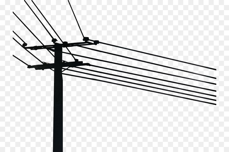 Telephone pole and wires clipart graphic transparent download Line Cartoon clipart - Wall, Sticker, Line, transparent clip art graphic transparent download