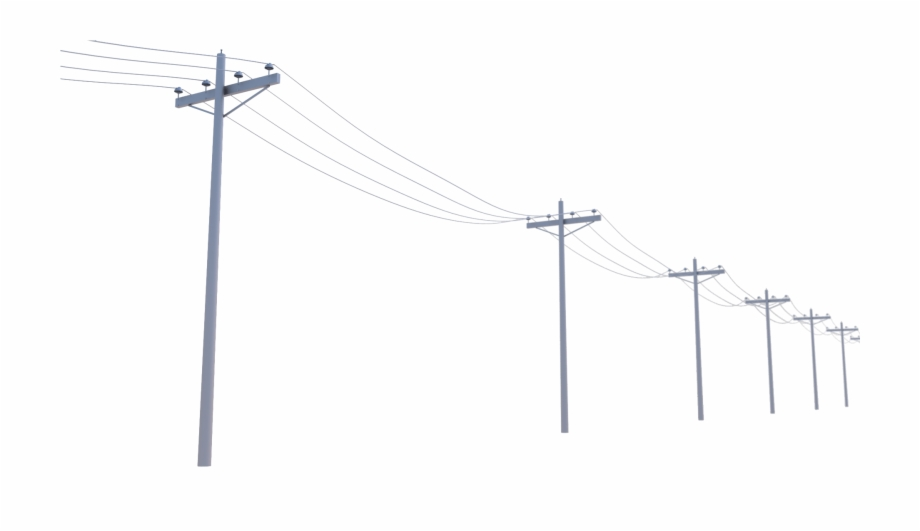 Telephone pole and wires clipart jpg free library Utility Clipart - Electric Poles Png {#2549075} - Pngtube jpg free library