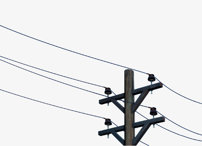 Telephone pole and wires clipart jpg library stock Utility Pole Drawing | Free download best Utility Pole ... jpg library stock