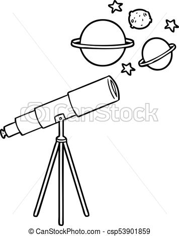 Telescope black and white clipart image royalty free stock Telescope clipart black and white 2 » Clipart Station image royalty free stock