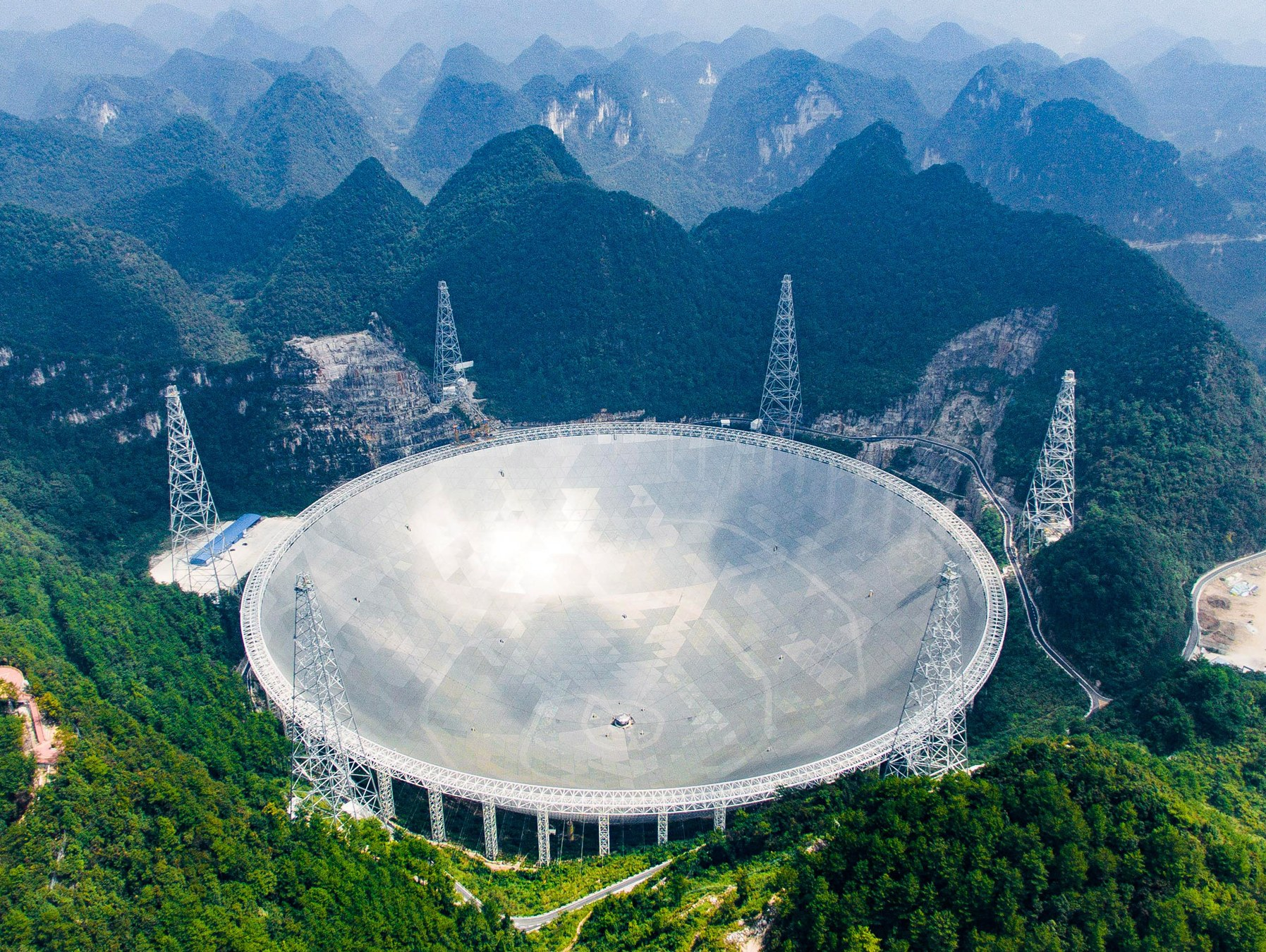 Telescope dishes clipart clip library stock China Built the World\'s Largest Telescope. Then Came the ... clip library stock