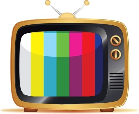Television clipart vector clipart transparent stock Free Free Vector Old Tv Illustrations Clipart and Vector ... clipart transparent stock