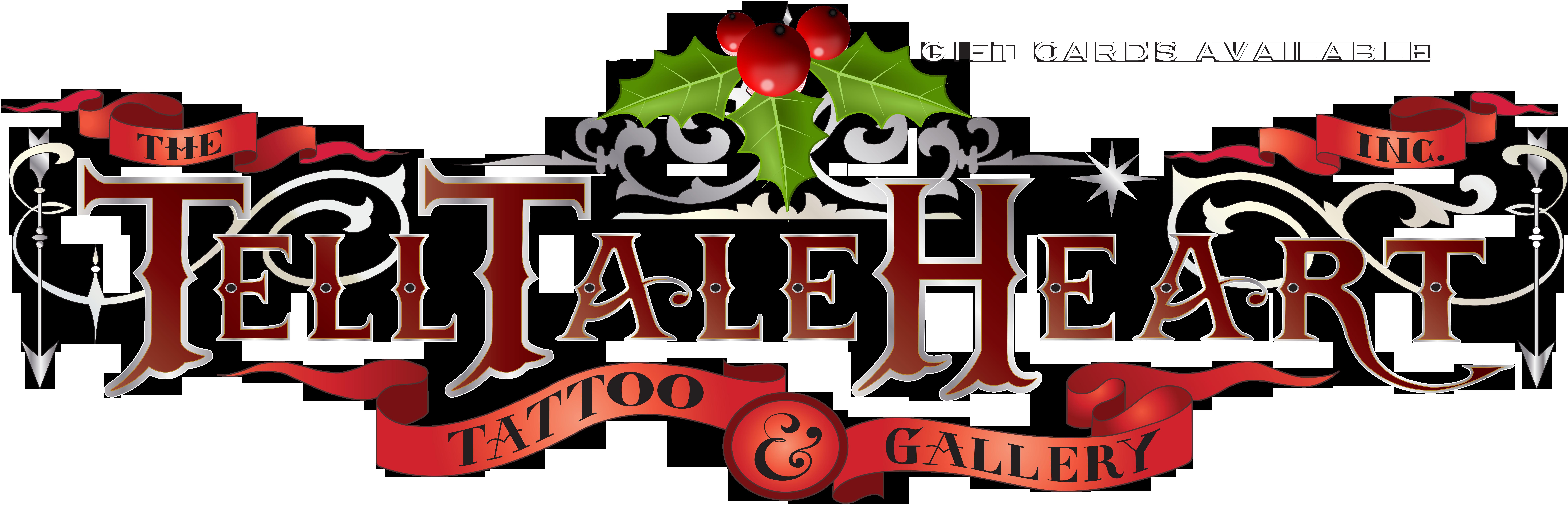 Tell tale heart clipart banner royalty free stock telltaleheart_logo_holidays | The Tell Tale Heart Tattoo & Gallery banner royalty free stock