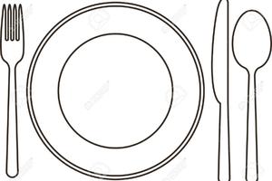 Teller besteck clipart image royalty free download Clipart teller und besteck 1 » Clipart Portal image royalty free download