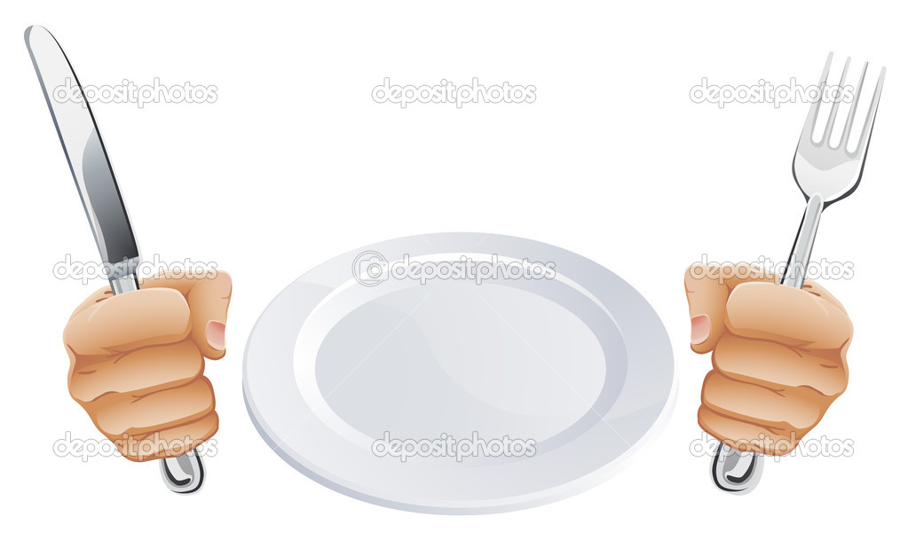 Teller mit essen clipart image freeuse Clipart teller besteck - ClipartFox image freeuse