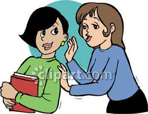 Telling a secret clipart freeuse library Telling a secret clipart 4 » Clipart Portal freeuse library