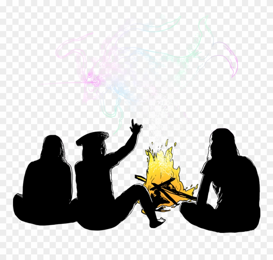 Telling a story clipart png royalty free download Telling Stories Amazon Frontlines - Elder Telling Story ... png royalty free download