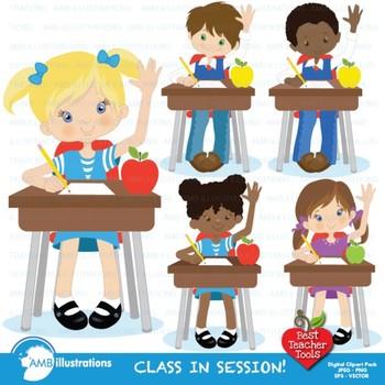 Temper tantrum in school clipart png transparent Classroom Clipart, BACK TO SCHOOL Clipart, {Best Teacher Tools} AMB-141 png transparent