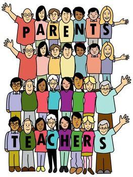 Temper tantrum in school clipart banner library stock Parent teacher clip art   SCHOOL CLIPART   Parents as ... banner library stock
