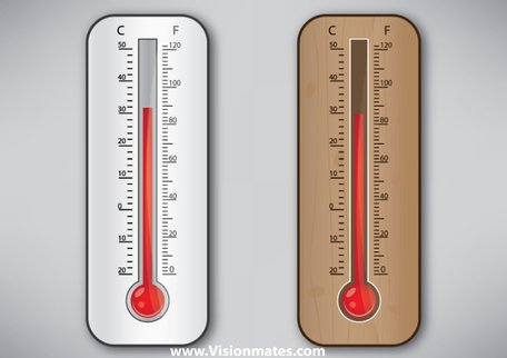 Temperature thermometer clipart free clip Free Thermometer Clipart and Vector Graphics - Clipart.me clip