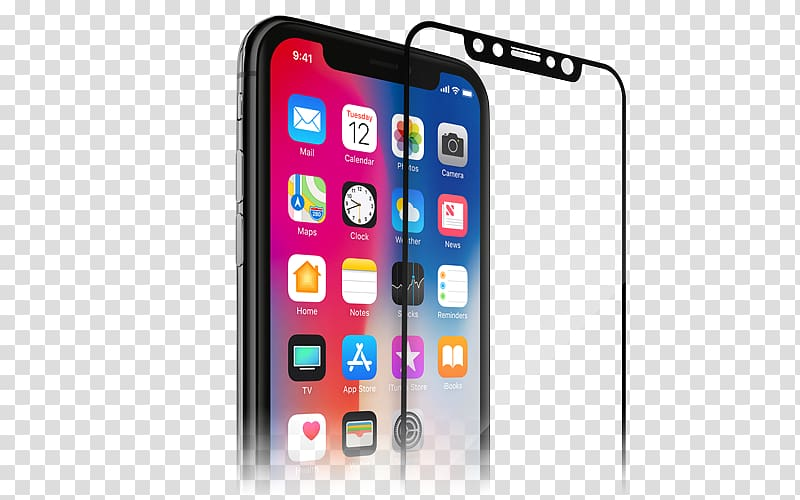 Tempered glass clipart clipart freeuse download Spigen iPhone X Screen Protector Screen Protectors iPhone 6S ... clipart freeuse download