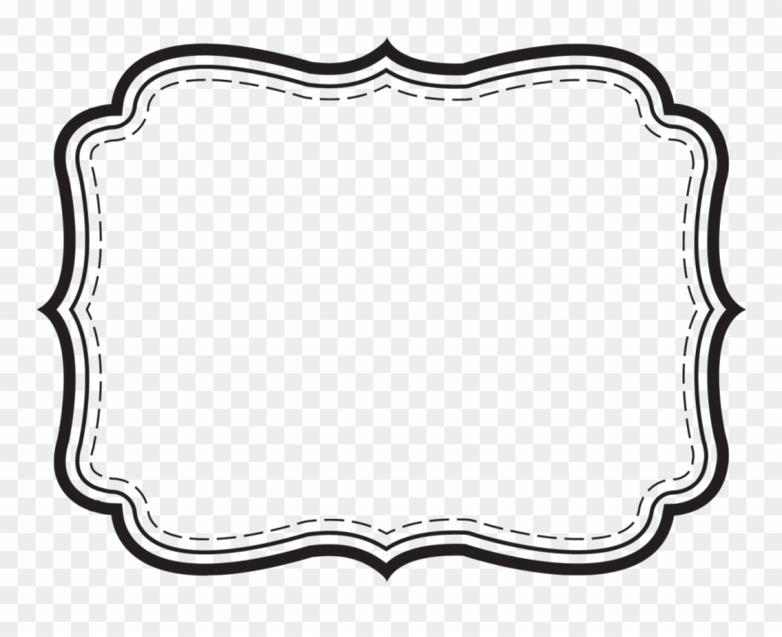 Templates clipart banner royalty free Jail Clipart Border - Free Label Templates - Png Download ... banner royalty free
