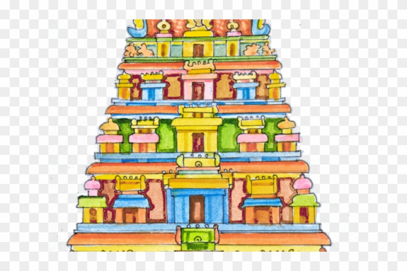 Temple clipart download Clipart Hindu Temple - Clipart Of Indian Temple, HD Png ... download