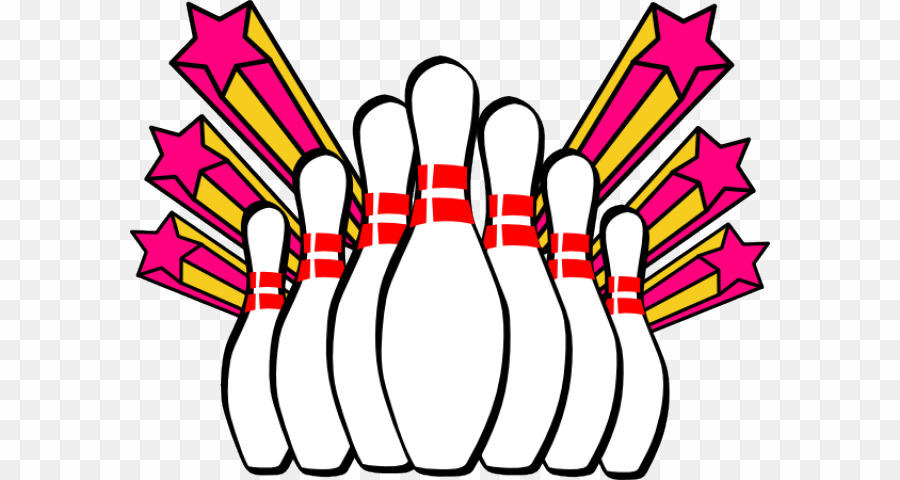 Ten bowling pins clipart image library library Bowling Pins PNG Ten-pin Bowling Clipart download - 640 ... image library library