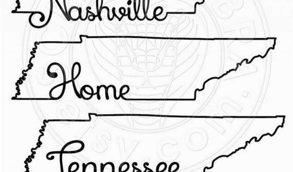 Tennessee state outline clipart image royalty free stock Tennessee State Map Outline Tennessee Map Outline Typography ... image royalty free stock