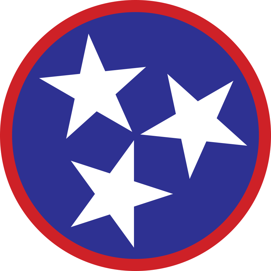 Tennessee tri star clipart royalty free stock Tn 3 star Logos royalty free stock