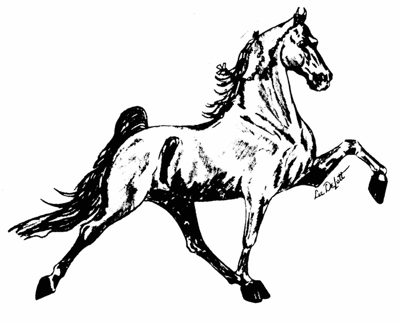 Tennessee walking horse clipart free svg library download Free Walking Horse Cliparts, Download Free Clip Art, Free ... svg library download