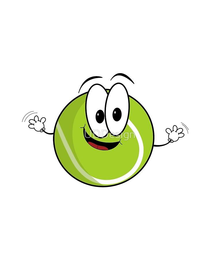 Tennis ball character cartoon clipart vector royalty free library Happy cartoon tennis ball character | iPad Case & Skin vector royalty free library