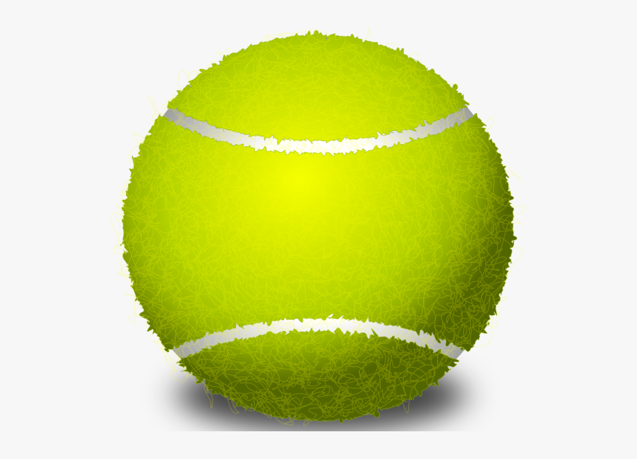 Tennis ball clipart no background download Tennis Ball Png Svg Clip Art For - Tennis Ball Transparent ... download