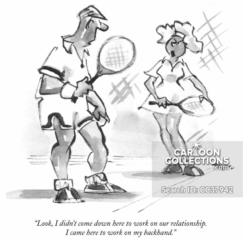 Tennis ball with legs and arms agressive cartoon clipart clip art free stock Tennis Cartoons and Comics - funny pictures from CartoonStock clip art free stock