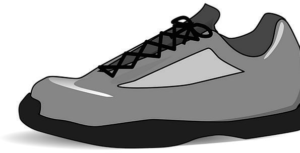 Tennis laces clipart vector library Tennis-Shoe, Isolated, Remote, Clipart, Sneaker, Grey, Old ... vector library