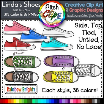 Tennis laces clipart svg black and white Shoes Clipart Worksheets & Teaching Resources | Teachers Pay ... svg black and white