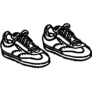 Tennis laces clipart royalty free Elegant tennis shoes clipart the cliparts clip art library ... royalty free
