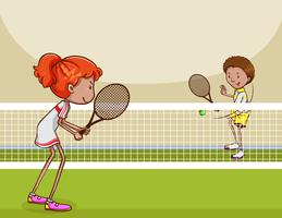 Tennis match clipart banner black and white library Tennis Clipart Free Vector Art - (193 Free Downloads) banner black and white library