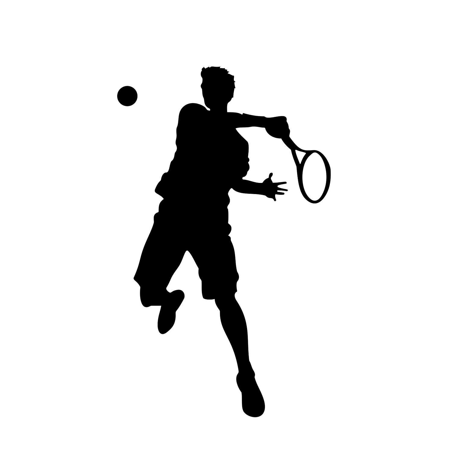 Tennis player clipart black and white png black and white download Pin szerzője: Sülle Katalin, közzétéve itt: Sports png black and white download