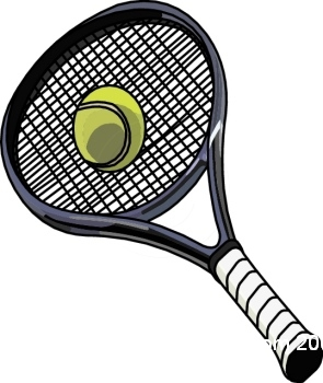 Tennis racket hitting ball clipart image library download 91+ Tennis Clip Art | ClipartLook image library download