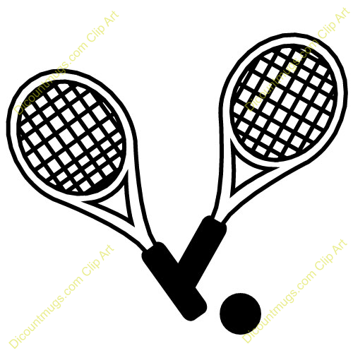 Tennis racquets clipart svg royalty free download Tennis Racket Clipart | Clipart Panda - Free Clipart Images svg royalty free download