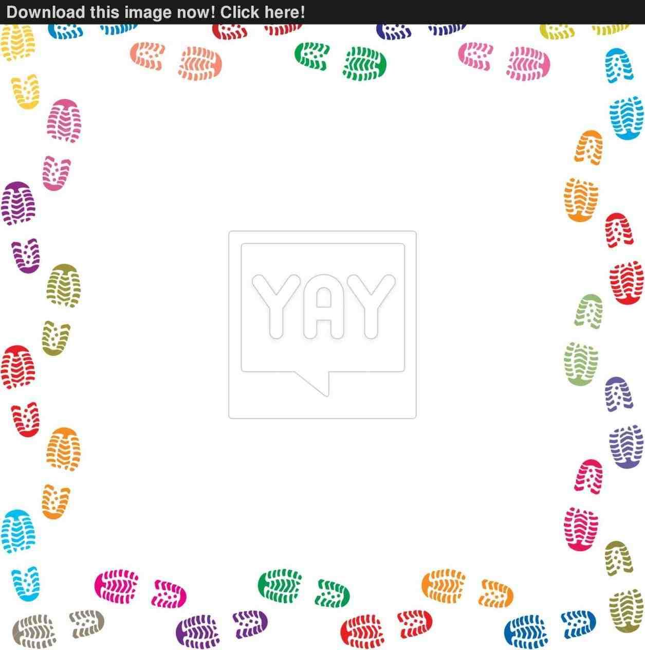 Tennis shoe border clipart vector Shoes clipart borders - 63 transparent clip arts, images and ... vector