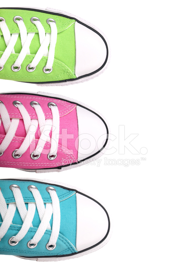Tennis shoe border clipart png black and white library Colorful Tennis Shoe Border Stock Photos - FreeImages.com png black and white library