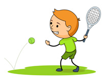 Tennis swing clipart graphic freeuse download Sports Clipart - Free Tennis Clipart to Download graphic freeuse download