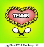 Tennis valentines clipart png transparent Tennis Valentine Clip Art - Royalty Free - GoGraph png transparent