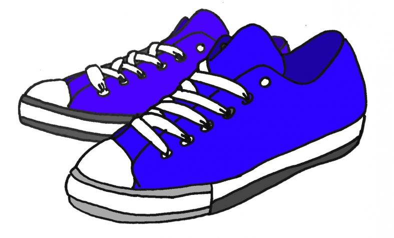 Tennisshoe clipart picture library download Kids tennis shoes clipart designs and ideas - ClipartPost picture library download