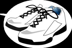 Tennisshoe clipart png freeuse Tennis, Shoes Clip Art at Clker.com - vector clip art online ... png freeuse