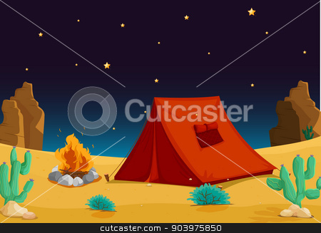 Tent and stars clipart clipart black and white stock tent house stock vector clipart black and white stock